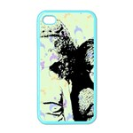 Mint Wall Apple iPhone 4 Case (Color) Front