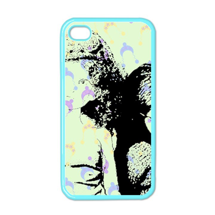 Mint Wall Apple iPhone 4 Case (Color)