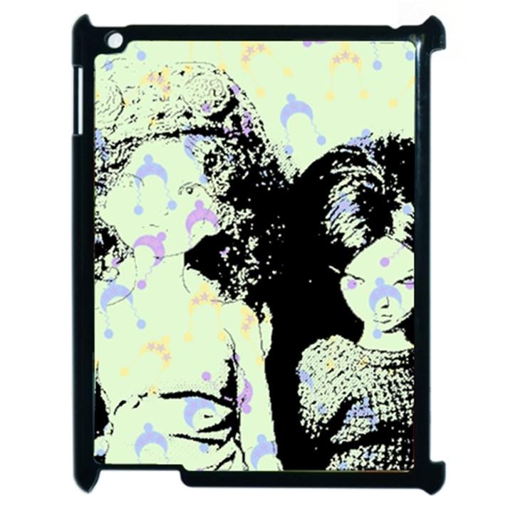 Mint Wall Apple iPad 2 Case (Black)