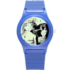Mint Wall Round Plastic Sport Watch (s)