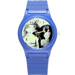 Mint Wall Round Plastic Sport Watch (S) Front