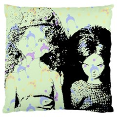 Mint Wall Large Cushion Case (two Sides)