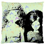 Mint Wall Large Cushion Case (Two Sides) Back