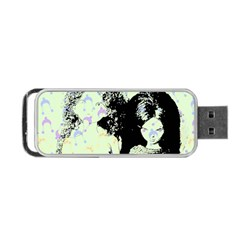 Mint Wall Portable Usb Flash (two Sides)