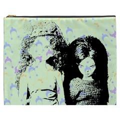 Mint Wall Cosmetic Bag (xxxl)