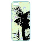 Mint Wall Apple Seamless iPhone 5 Case (Color) Front