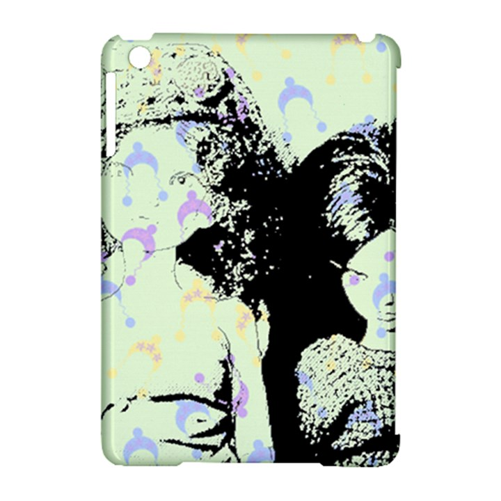 Mint Wall Apple iPad Mini Hardshell Case (Compatible with Smart Cover)