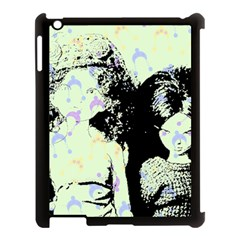 Mint Wall Apple Ipad 3/4 Case (black)