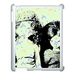 Mint Wall Apple iPad 3/4 Case (White) Front