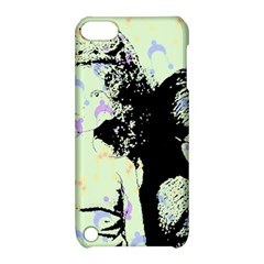 Mint Wall Apple Ipod Touch 5 Hardshell Case With Stand