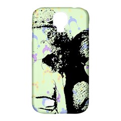 Mint Wall Samsung Galaxy S4 Classic Hardshell Case (pc+silicone)