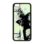 Mint Wall Apple iPhone 5C Seamless Case (Black) Front