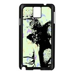 Mint Wall Samsung Galaxy Note 3 N9005 Case (Black) Front