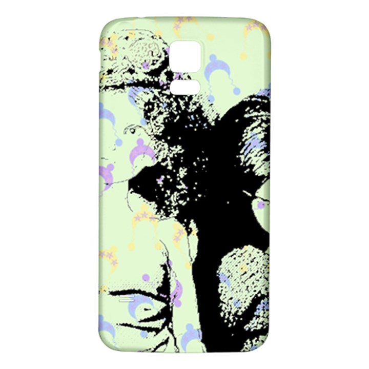 Mint Wall Samsung Galaxy S5 Back Case (White)