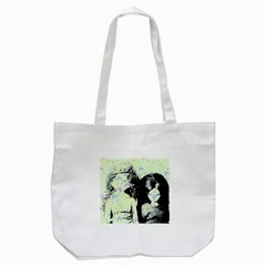 Mint Wall Tote Bag (white)