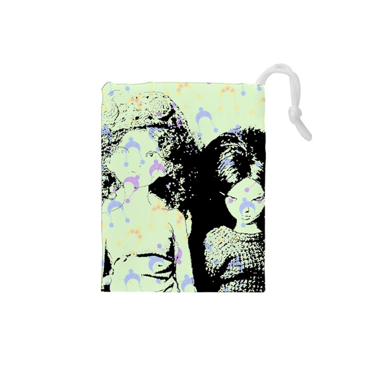 Mint Wall Drawstring Pouches (Small)