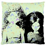 Mint Wall Large Flano Cushion Case (Two Sides) Back