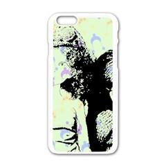 Mint Wall Apple Iphone 6/6s White Enamel Case