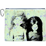 Mint Wall Canvas Cosmetic Bag (XXXL) Front