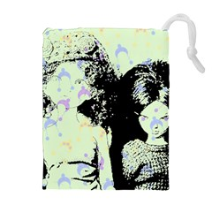 Mint Wall Drawstring Pouches (extra Large)