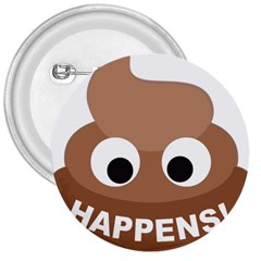 Poo Happens 3  Buttons