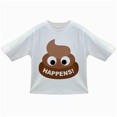Poo Happens Infant/toddler T Shirts
