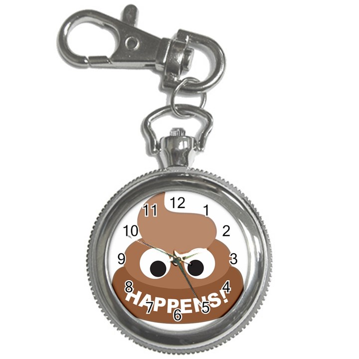 Poo Happens Key Chain Watches