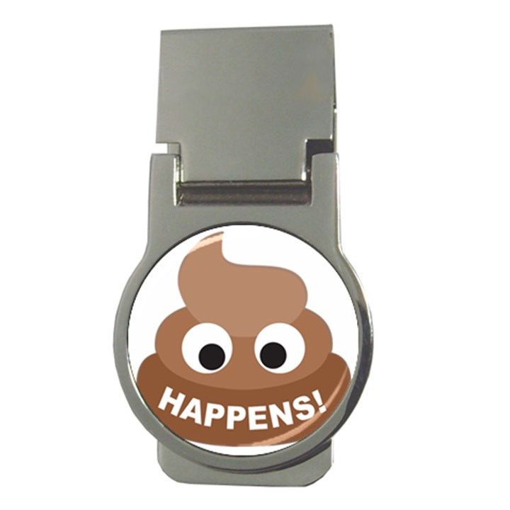 Poo Happens Money Clips (Round)
