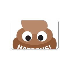 Poo Happens Magnet (name Card)