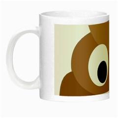 Poo Happens Night Luminous Mugs