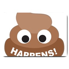 Poo Happens Large Doormat