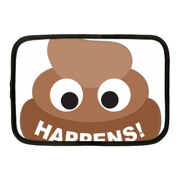 Poo Happens Netbook Case (Medium)