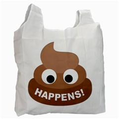 Poo Happens Recycle Bag (two Side)