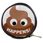 Poo Happens Mini Makeup Bags Front