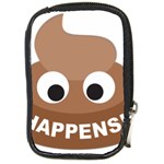 Poo Happens Compact Camera Cases Front