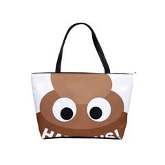 Poo Happens Shoulder Handbags