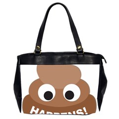 Poo Happens Office Handbags (2 Sides)