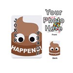 Poo Happens Playing Cards 54 (Mini)  Front - Joker1
