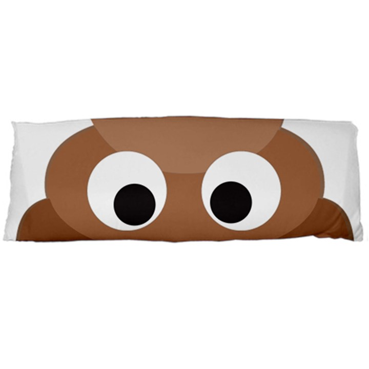 Poo Happens Body Pillow Case Dakimakura (Two Sides)