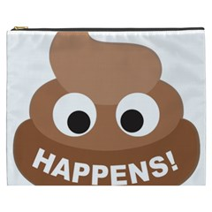 Poo Happens Cosmetic Bag (xxxl)