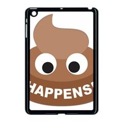 Poo Happens Apple Ipad Mini Case (black)