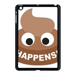 Poo Happens Apple iPad Mini Case (Black) Front