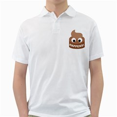 Poo Happens Golf Shirts