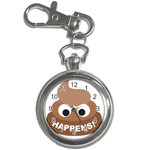 Poo Happens Key Chain Watches Front