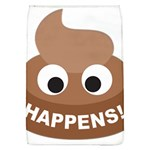 Poo Happens Flap Covers (L)  Front