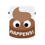 Poo Happens Apple iPad 2/3/4 Protective Soft Cases Front