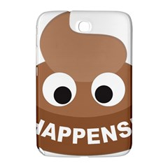 Poo Happens Samsung Galaxy Note 8 0 N5100 Hardshell Case