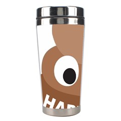 Poo Happens Stainless Steel Travel Tumblers