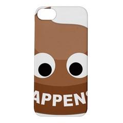 Poo Happens Apple Iphone 5s/ Se Hardshell Case
