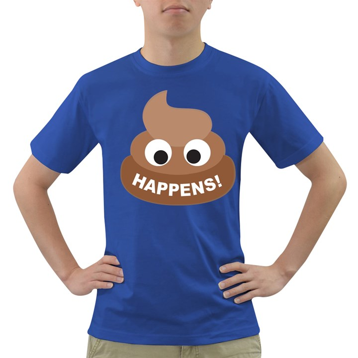 Poo Happens Dark T-Shirt